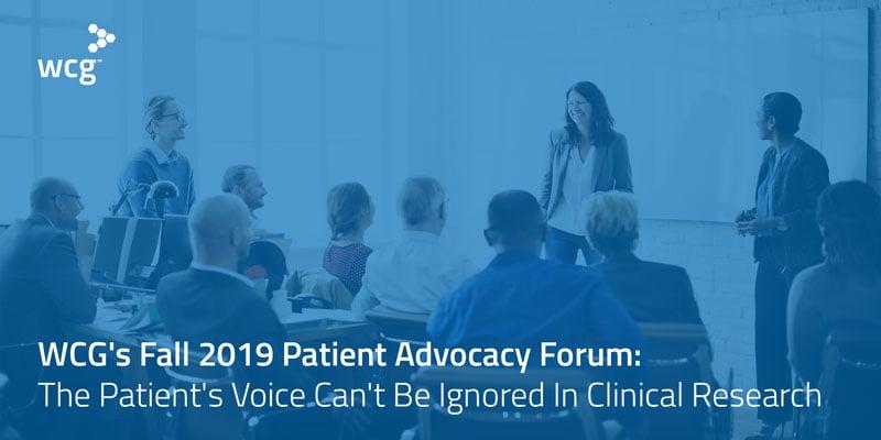 wcg-patient-advocacy-forum